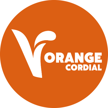 Concentrated Orange flavour Cordial with Sugar and Sweeteners
