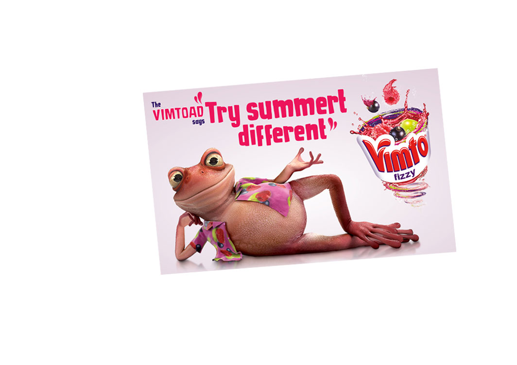 Vimto Vimtoad Screen